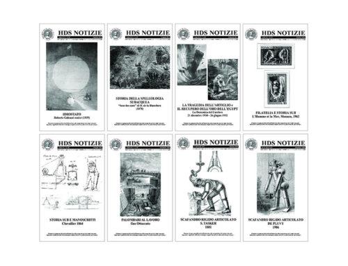 HDS Notizie – riviste 43, 44, 45, 46, 47, 48, 49, 50