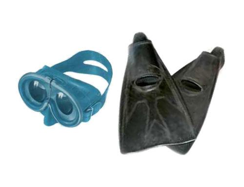 60° anniversario dell'invenzione delle pinne Rondine e della Maschera Pinocchio