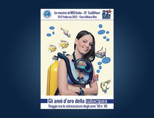 """HDS Italia all'EUDIi Show 2013 presenterà la mostra tematica """"Gli anni d'oro della subacquea"""""""