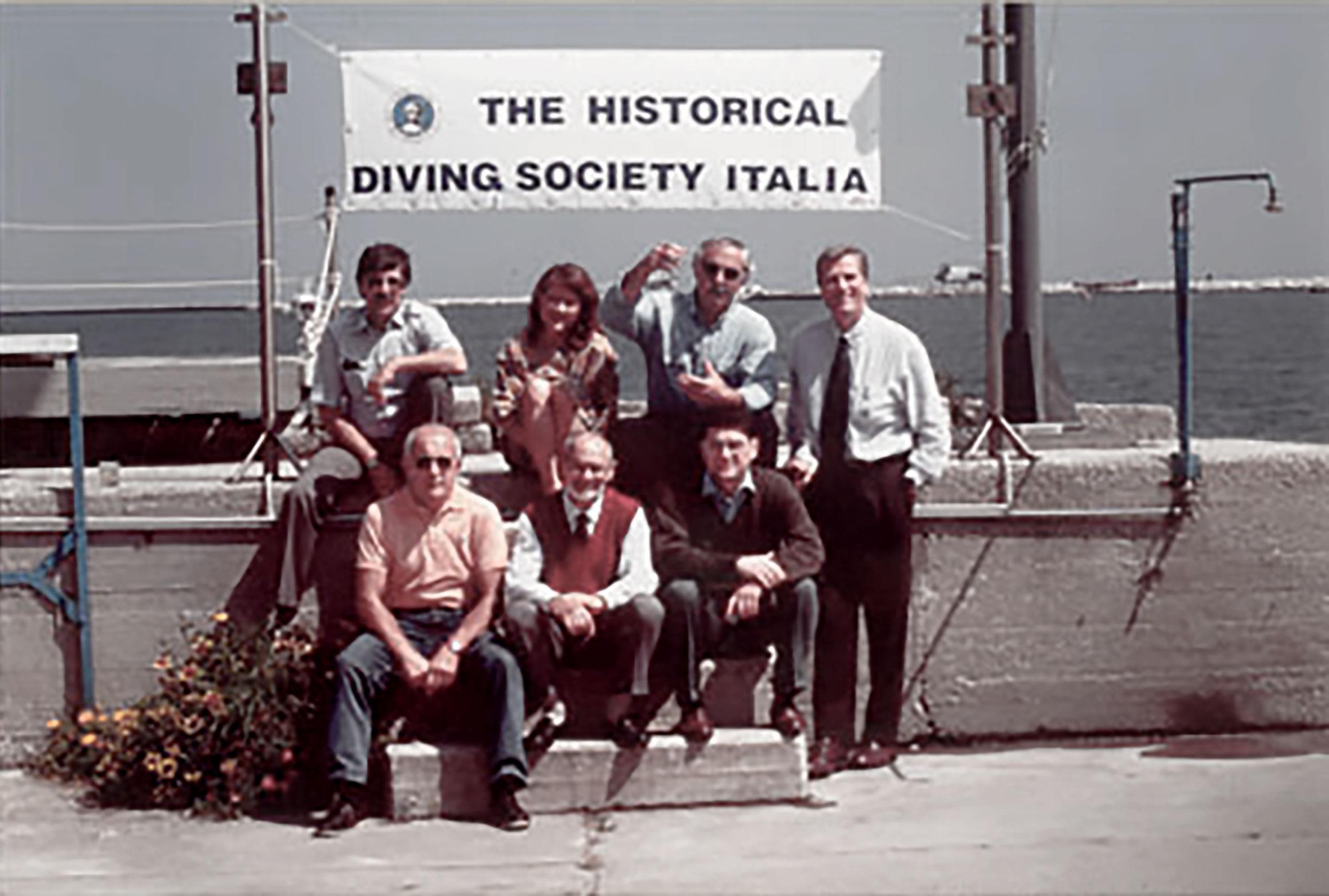 foto ricordo dei fondatori di HDS Italia