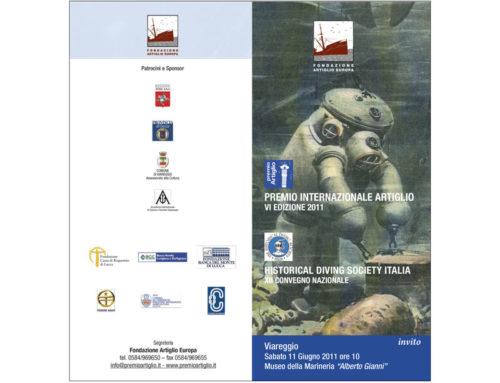 XII Convegno HDSI sulla storia dell'immersione e IV Premio Artiglio