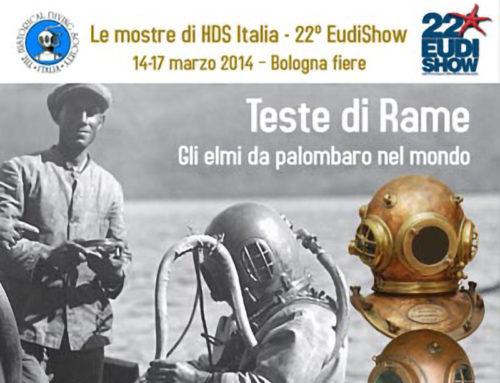 EUDI SHOW 2014 – Dal 14 al 17 marzo HDS Italia presenta una mostra unica di elmi da palombaro