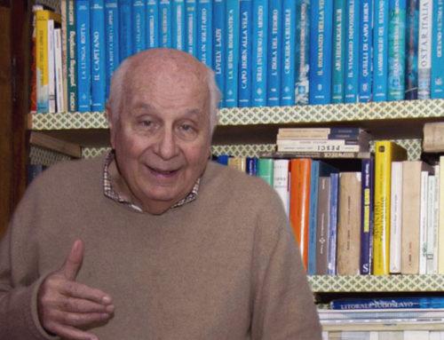 Folco Quilici ha donato la sua biblioteca di libri sul mare ad HDSI per la biblioteca museale