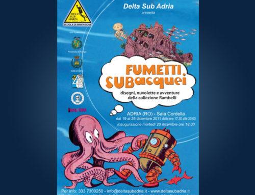 Mostra di Fumetti subacquei ad Adria