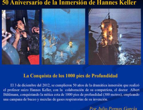 50° anniversario dell'immersione di Hannes Keller