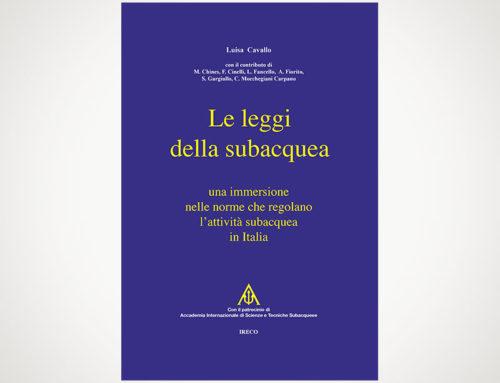 """Presentazione del libro: """"Le Leggi della subacquea"""""""
