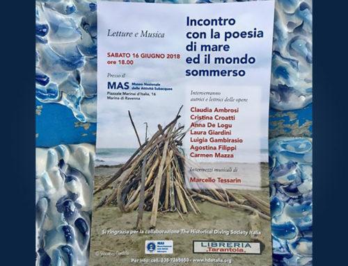 Incontro con la poesia di mare ed il mondo sommerso al MAS – Letture e musica