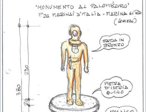 """La storia della subacquea italiana in un """"Monumento al Palombaro"""""""