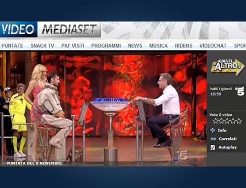 L' HDS Italia su Canale 5