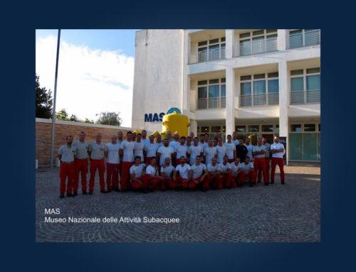 Una visita speciale al MAS – XXVII Corso Basico Nazionale per Allievi Sommozzatori dei Vigili del Fuoco