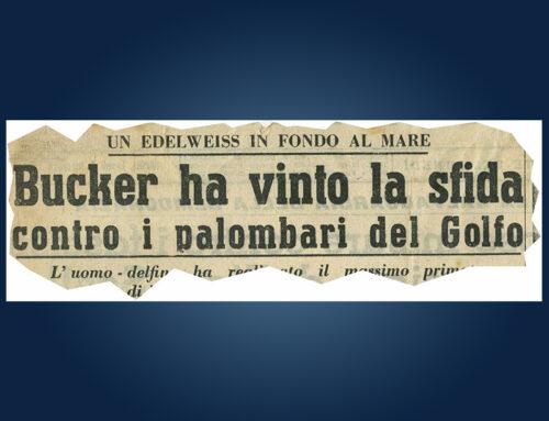 5 novembre 1950. La formidabile apnea di Raimondo Bucher.
